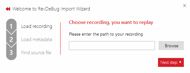Save&Share import wizard